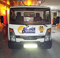 Camión de desatascos EmbusDesembus